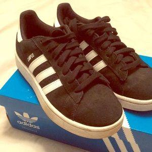 adidas Shoes - Adidas campus - suede black/white